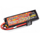 River Hobbies / Gensace 3300mah 2S 25C Pack - Hardcase rectangular Car Pack