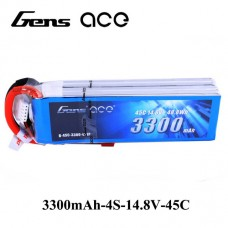 GensAce 3800mah 4S 45C Pack