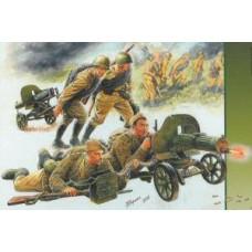 Zvezda 1/35 Soviet Machine Gun Crew WWII