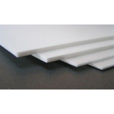Depron 6mm x 1m x 0 5m natural white (Not courier friendly)