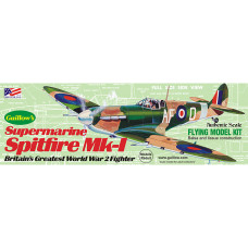 Guillow's Supermarine Spitfire MK-1 (Kit504) 41.91cm wingspan