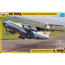 1/144 Zvezda IL-76MD Russian Strategic Airlifter
