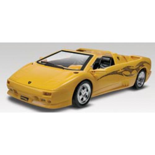 1 24 Snaptite Lamborghini Diablo Vt Roadster Plastic Model Kit