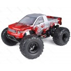 HSP 1/10 Scale  RTR Brushless Off Road Monster Truck with Wheelie Bar (Colour Red)
