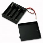 4 AA Battery Cover Box Plastic Holder with ON/OFF Switch