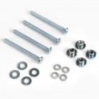 DUBRO Mounting Bolts & Nuts,4-40 x 1-1/4