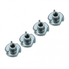 DUBRO Blind Nuts,2-56 (4pk)