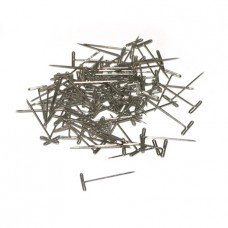 T-Pins, Nickel Plated, 1Inc (100)