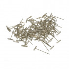 T-Pins, Nickel Plated, 1-1/2in (100)