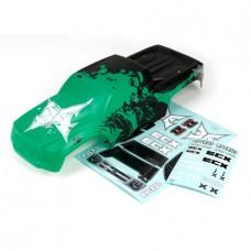 1/10 ECX Rukus Body Black/Green