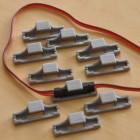 Servo Safety Wire Holder Side (5pcs/bag)