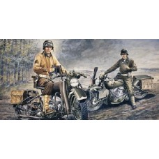 1/35 US Motorcycles WWII D-Day