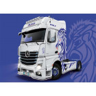1/24 Mercedes-Benz Actros MP4 Giga Space Show Truck - Super Decal Sheet Included