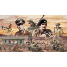 1/72 WWII El Alamein War Battle Set