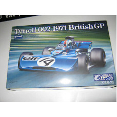 Tyrrell 002 British GP 1971 scale 1:20