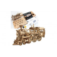 Mechanical Locomotive - Laser cut wood