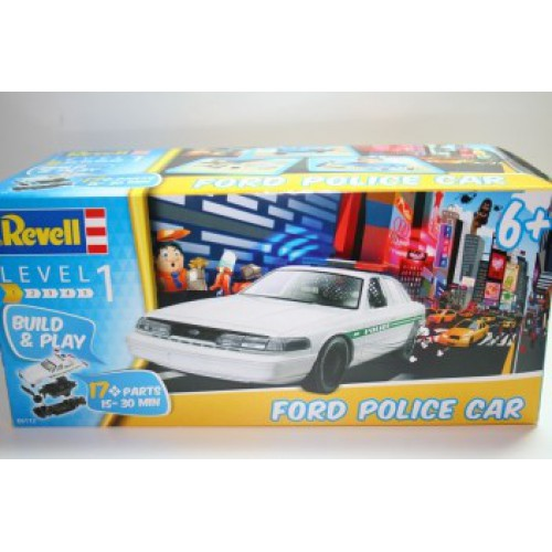 Ford Police Car (Build and Play)