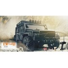 1/10 R/C BF-4J (Land Rover) Brushed Rock Crawler (Black) VRX