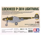 1/48 LOCKHEED P-38 H LIGHTNING
