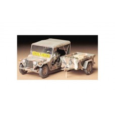 1/35 US Ford Mutt M151A2 with M416 Cargo Trailer