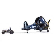 1/48 F4U-1D Corsair with Moto-Tug