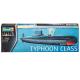 """1/400 """"Typhoon"""" Class Soviet submarine"""