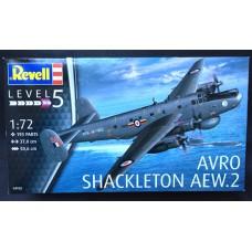 1/72 Scale Avro Shackleton AEW.2