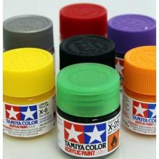 Tamiya ACRYLIC Plastic Model X Paints 23ml