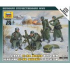 1/72 German 81mm Mortar with crew