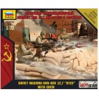 "1/72 Soviet Machine-Gun NSV 12.7 ""UTES"" with Crew"