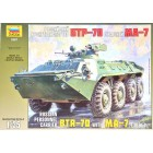 1/35 BTR-70 Russian Personnel Carrier with MA-7 Turret