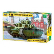 Soviet T35 Heavy Tank