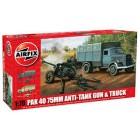 1/76  PaK 40 75mm Anti-Tank Gun & Truck