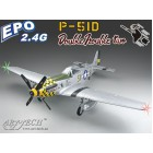 500 Class P-51D Mustang EPO (with retractable landing gear) (PnP)