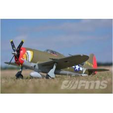 FMS 980mm P-47 Razorback PNP  (EPO) 160 km/h 4S Version