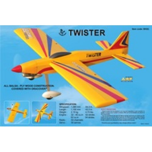 Black Horse Twister 32-40 Size 1380mm Wingspan ARF