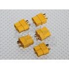5 Pairs XT60 Connectors