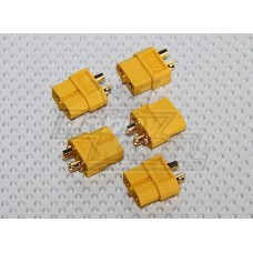5 Pairs XT60 Connectors