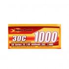 Desire Power 1000MaH 7.4V 30C
