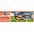 Cessna Bird Dog Flying Model Balsa Aircraft Kit from Guillow's