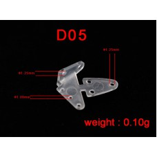 10 mm Clear Plastic Horn (10 pcs)