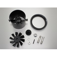 10 Blade High-Performance 70mm EDF Ducted Fan Unit