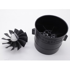 12 Blade High-Performance 90mm EDF Ducted Fan Unit