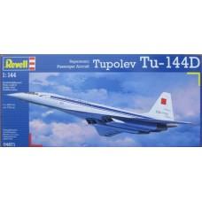 Supersonic Passenger Aircraft Tupolev Tu-144D