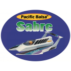 Pacific Balsa Sabre Powered  Boat