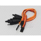 15CM Servo Lead Extention (JR) with hook 26AWG (1pc)