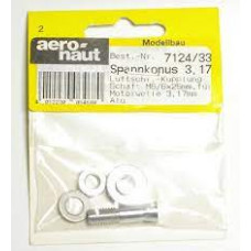 AERONAUT 3.17mm Prop Shaft Adapter