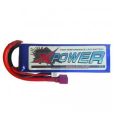 XPower 3300mah 3S 45C Pack Deans/ T-Connector