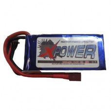 XPower 1300mah 2S 25C Pack