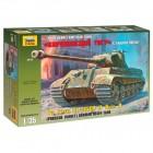 Zvezda 1/35 King Tiger Sd.Kfz.182 Porsche Turret German Heavy Tank